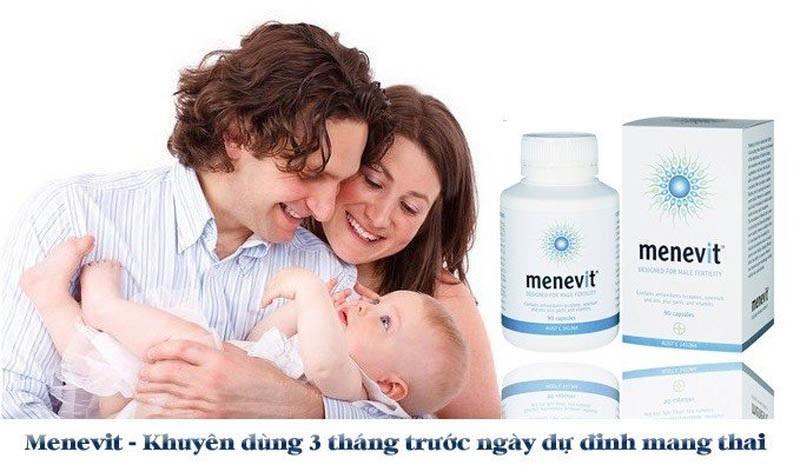Cách dùng Menevit