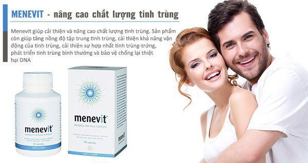 Đối tượng sử dụng Menevit