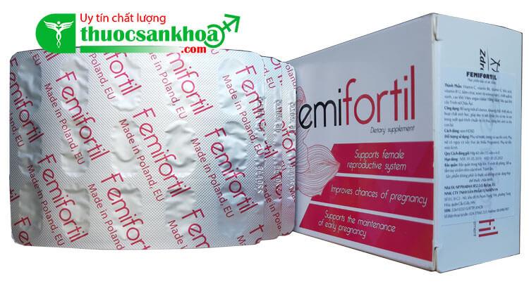 Femifortil là gì?
