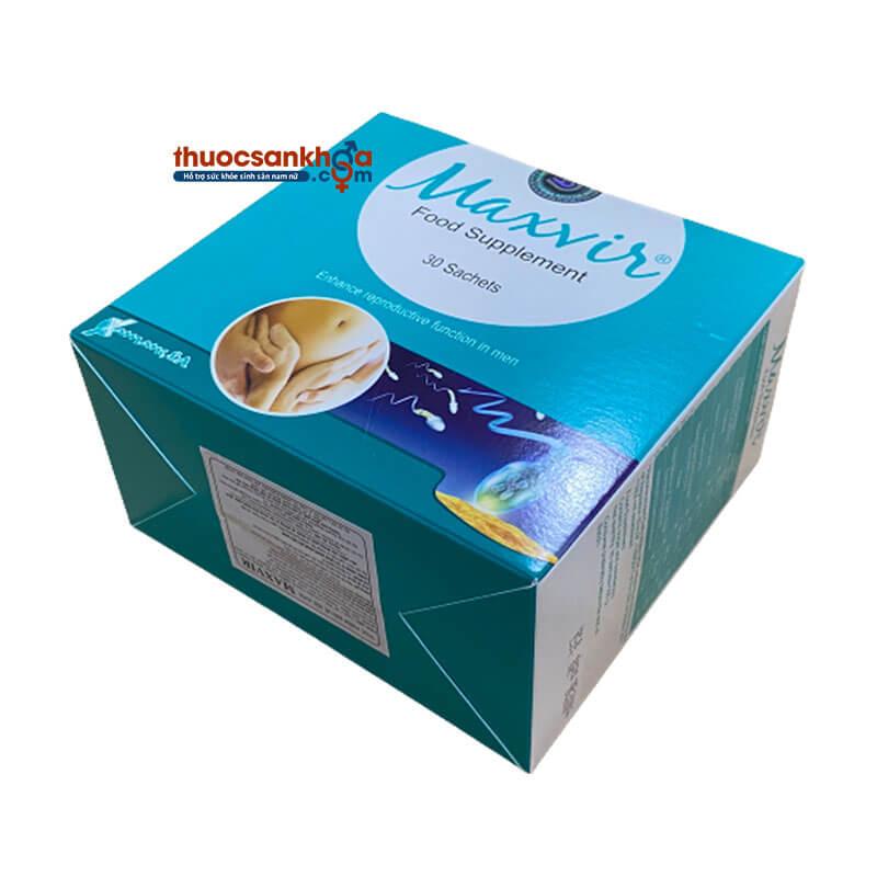 Maxvir® Food Supplement - Bổ Tinh Trùng Dạng Gói - Bồ Đào Nha
