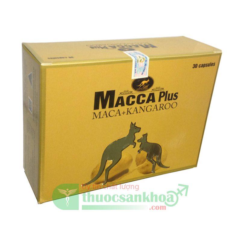 Macca Plus Giúp Tăng Cường Sinh Lý Nam Giới