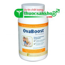 OvaBoost For Women Tăng Chất Lượng Trứng, Chức Năng Buồng Trứng