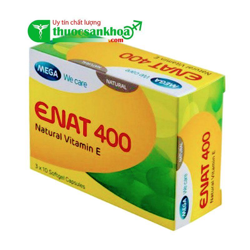 Enat 400 viên uống bổ sung vitamin e