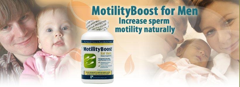 MotilityBoost For Men tăng tỷ lệ thụ thai thanh công