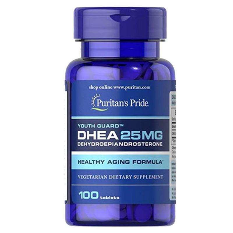 Viên uống bổ sung nội tiết tố nữ DHEA 25mg, Puritan's Pride, 100 viên