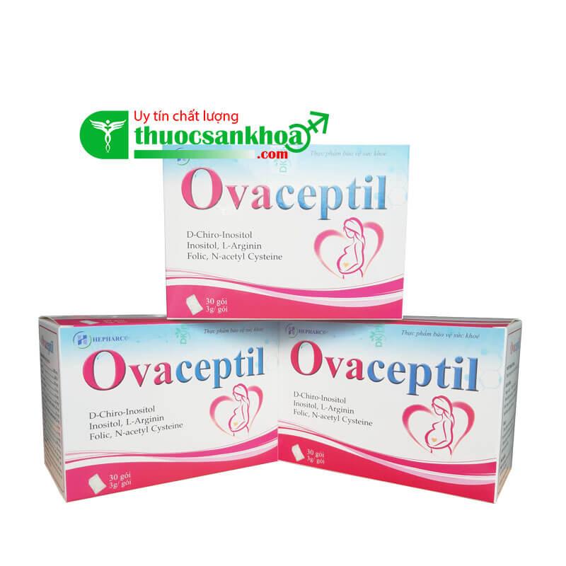 Ovaceptil - Tăng Cường Sức Khỏe, Tốt Cho Phụ Nữ Chuẩn Bị Mang Thai