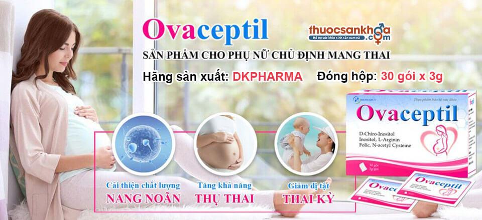 Tác dụng của Ovaceptil