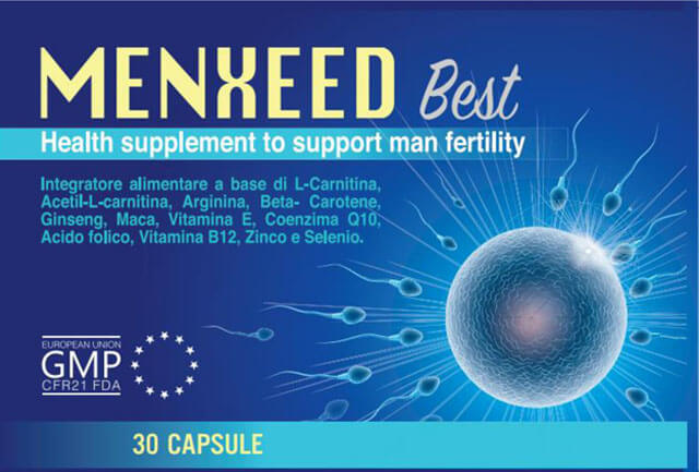 Menxeed Best hỗ trợ sinh sản nam, hộp 30 viên