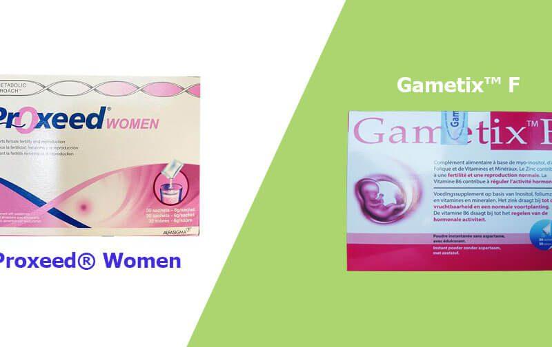 [Review] Proxeed® Women và Gametix™ F loại nào tốt?